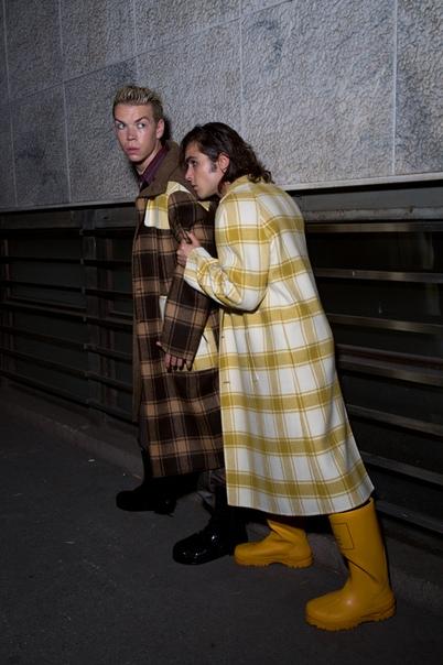 Will Poulter & Ben Schnetzer for Numéro, 2018 Luca Guadagnino