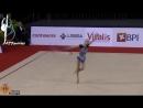 Алина Ермолова - обруч многоборье МТ, Лиссабон 2015