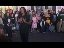 Laurent (Les Twins) Freestyle at Piccadilly Circus Part-2