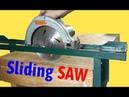 DIY Sliding Circular Saw Chế Cưa Đĩa Trượt