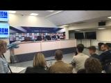 Пресс-конференция Массимо Карреры
