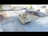 Сирия  «Танковый спецназ» получил «ракетного монстра» на базе Т-72