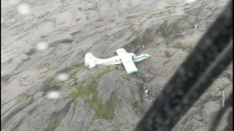 На Аляске потерпел крушение небольшой пассажирский самолет