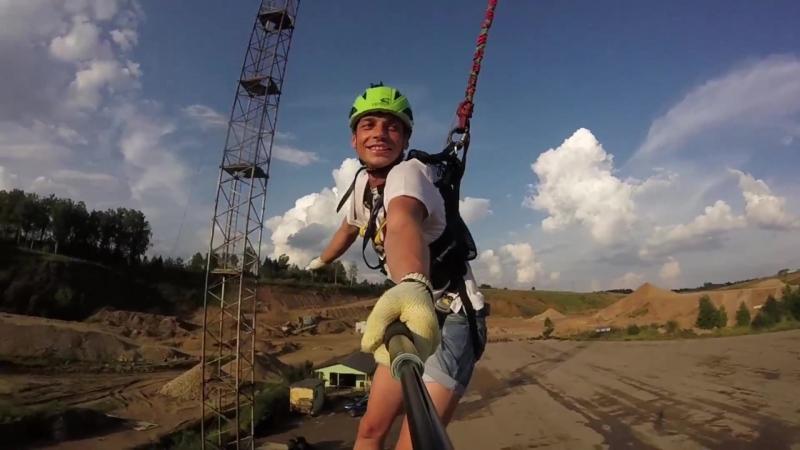 Прыжки с веревкой Гранд Карьер 28 08 04 1
