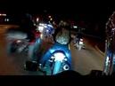 Отожгли по ночному городу с бешеным квадроциклом
