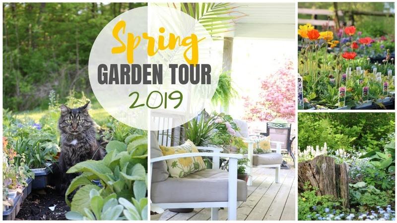 Spring Gardens ~ Spring Garden Tour ~ Cottage Style Gardens ~ Gardening Ideas ~ Perennial Gardens