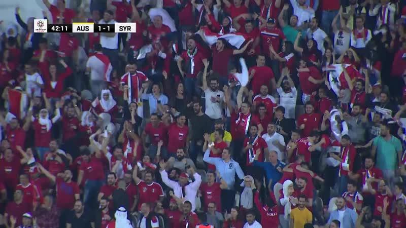 Австралия 3·2 Сирия · Азия · Кубок Азии 2019