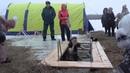 Наталья Гончарова впервые принимавшая участие в Крещенских купаниях