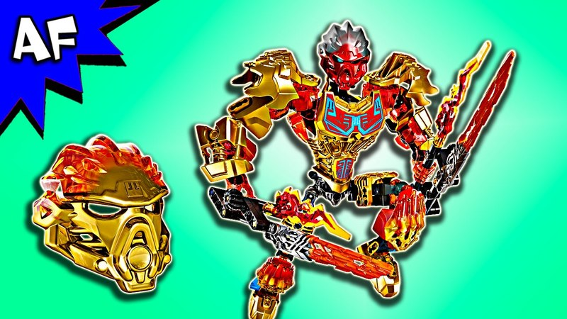 Lego Bionicle TAHU - Uniter of Fire 71308 Speed Build