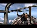 IL 2 Sturmovik Cliffs of Dover interception of Wellingtons goes wrong
