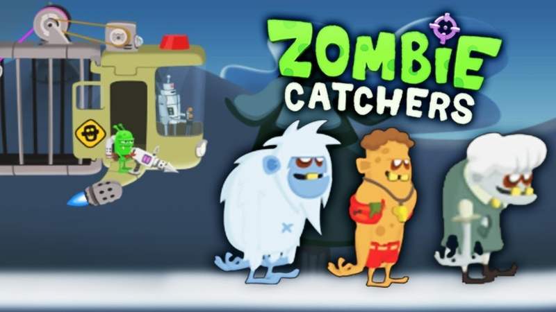 РЕЙД на ЗОМБИ БОССОВ Мультяшная игра про ОХОТУ на ЗОМБИ Zombie Catchers от Mobik'а