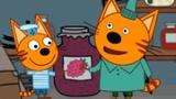 Три Кота Малиновое Варенье и Кекс Детский Уголок Kids'Corner Мульт Игра Для Детей