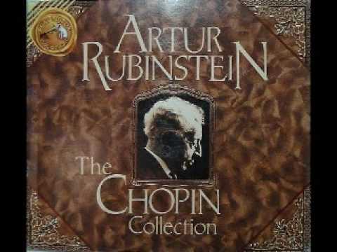Arthur Rubinstein - Chopin Mazurka, Op. 7 No. 1
