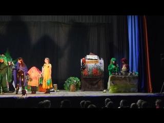 Отрывок из спектакля Приключения в сказочном лесу по мотивам книги К.Матюшкиной Веники еловые...