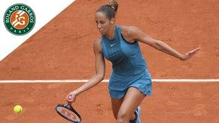Madison Keys vs Yulia Putintseva - Quarter-Final Highlights I Roland-Garros 2018