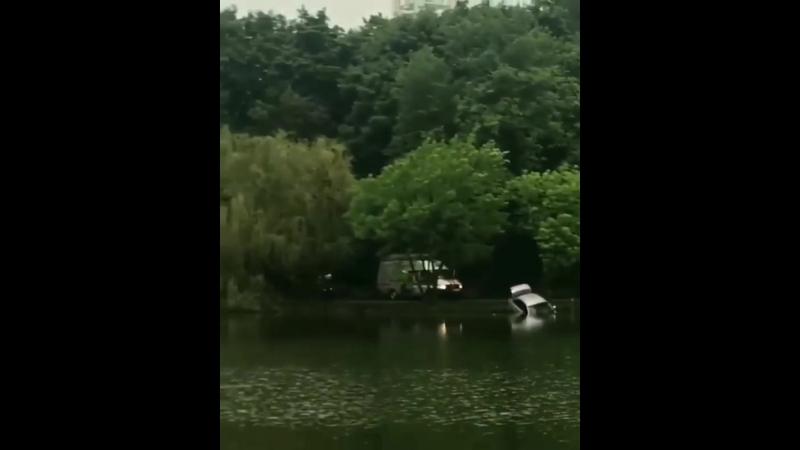 Дмитриевская Дамба озеро Карасун 9 мая