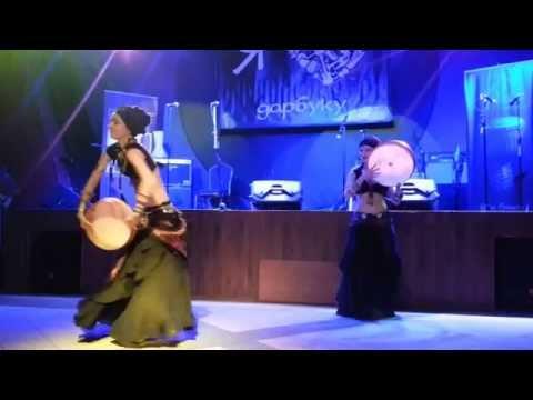 Танцевальная группа MiRA - Выступление на Дне рождения школы Ethnobeat. Клуб Mezzo Forte, 08.07.2014