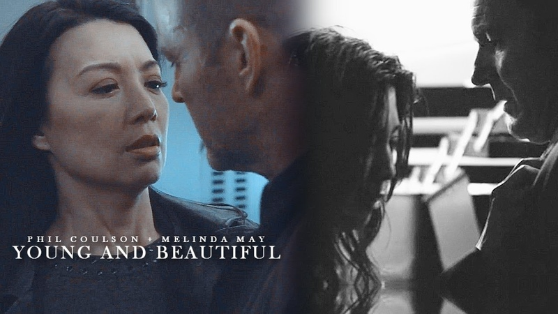 Phil Coulson Melinda May (Philinda) - Young and Beautiful