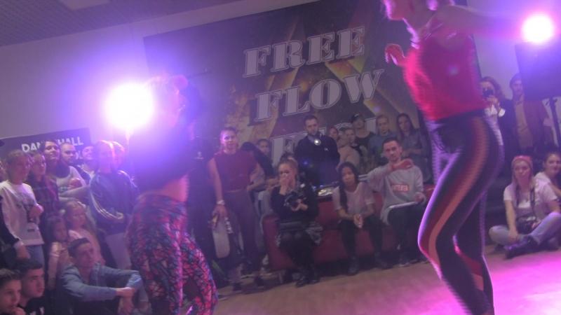 Free Flow Fest 2017. Dancehall pro 18. Лидос vs. Salem