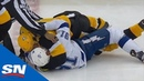 Evgeni Malkin Lands On Steven Stamkos To Finish Off Fiery Scrum