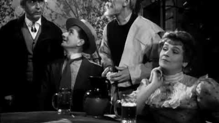 Варвары Сцены в уездном городе. 1953 г. СССР. Фильм-спектакль