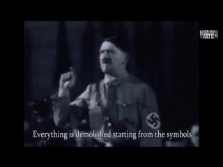 Adolf Hitler Rails Against Cultural Liberalism in 1933 Speech English Subtitles