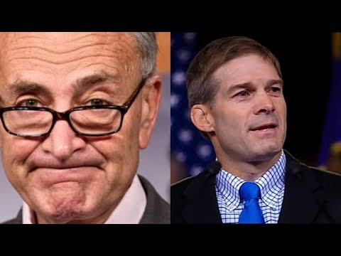 CHUCK SCHUMER SHUT THE GOV., TRUMP ONLY PROMISES TO KEEP US SAFE JIM JORDAN REACTS TO DEMS