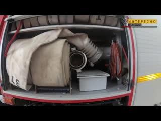Пожарная машина, что в ней находится. пожарный автомобиль-устройство