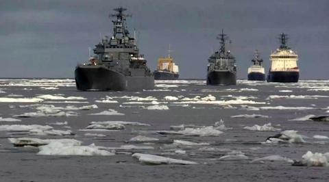 Вести.Ru Отряд боевых кораблей Северного флота прибыл в Североморск после арктического похода