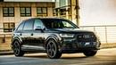 Картинка машина. Audi, черный, Ауди, кроссовер, SQ7, ABT, Black.
