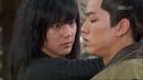 Ё Вун против японского пасланника Воин Пэк Тон Су