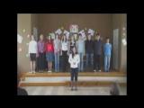8марта Юхкентали, 2008 год, хору 2-3 месяца!! Самый первый состав. Настя поёт песню про мамонтёнка