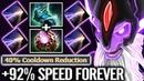 Dark Seer x200% Speed MAX SPEED 40% Cooldown Octarine Talent tree Crazy Fun dota 2 gameplay