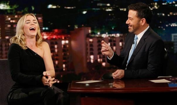 Николь Кидман и Кит Урбан премии CMA Awards 2018 Эмили Блант в гостях у Джимми КиммелаАлисса Милано