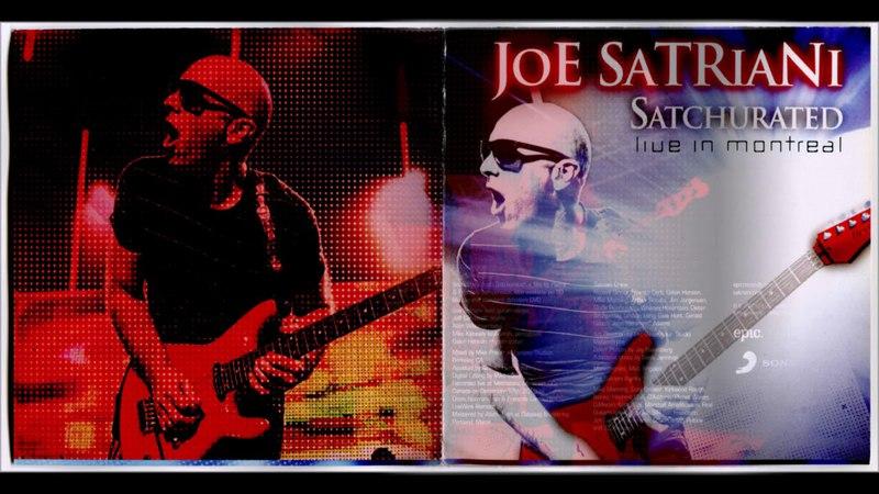 Joe Satriani - Satchurated: Live In Montreal (2012) (CD, EU) [HQ]