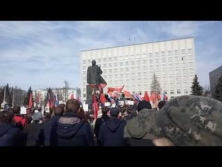 Поморье не помойка! Митинг против мусора в Архангельске! 2019