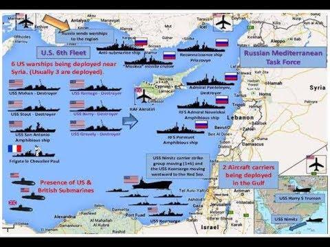 17.09.18 Enorme Flottenaufbau im östlichen Mittelmeer,Warum zieht die Elite nach Neuseeland