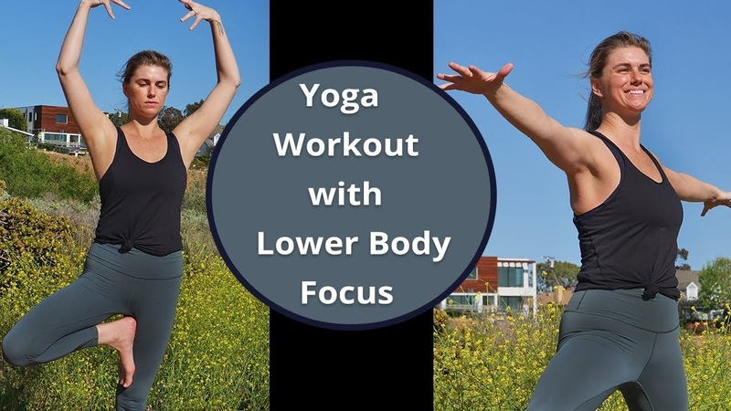 Vinyasa Flow Yoga Workout with Lower Body Focus: Hip Stretching