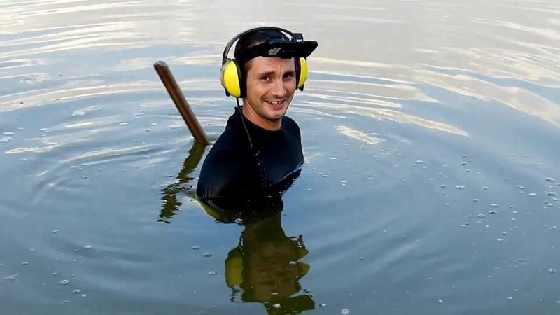 Подводный поиск Зачистка пляжа перед новым сезоном Часть 2 .