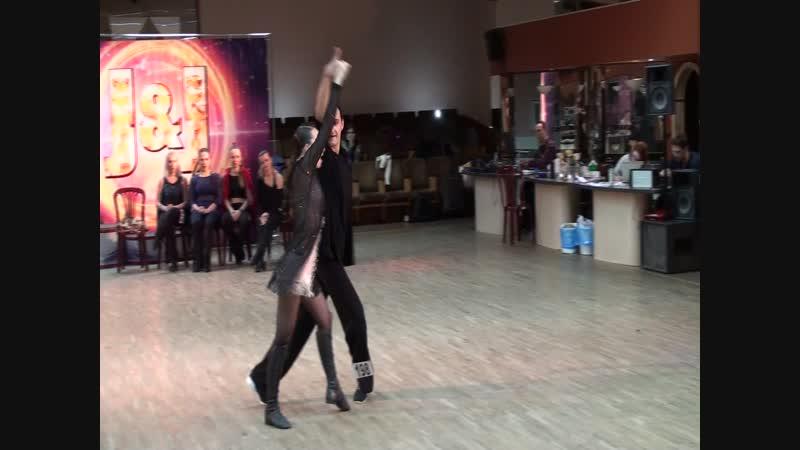 19 1 19J JOnly Final St Ch Slow 1 место Виталий Ермаков Екатерина Николаева