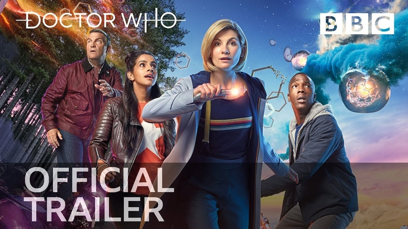 Epic, intergalactic and explosive new Doctor Who trailer drops! - BBC/Трейлер одиннадцатого сезона сериала Доктор Кто