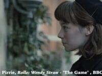 Josefin Hagen´s Stimme für Chloe Pirrie, BBC The Game, Rolle: Wendy Straw