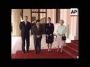 UK: KING ABDULLAH OF JORDAN LUNCHES WITH THE QUEEN