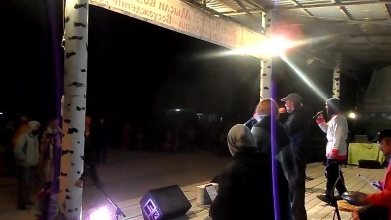 Речеян(ФОЛК-ДЖЕМ ЗАТОМИСНАЯ ТУСОВКА , дебютная Песня Любомудра(солиста -исполнителя этой премьеры)