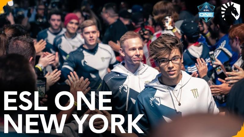 Когда счет стал 13-4 все стали сильно нервничать... | Team Liquid CSGO - ESL One New York 2018