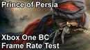 Prince of Persia Xbox One X vs Xbox One vs Xbox 360 Backwards Compatibility Frame Rate Comparison