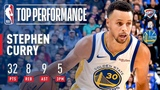 Stephen Curry Leads All Scorers With 32 Points In Victory Over OKC | 2018-2019 NBA Opening Night #NBANews #NBA #Warriors #StephenCurry