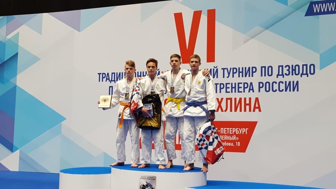 Таганрожец Мамаки Иван занял 3 место на юношеском турнире по дзюдо в Санкт-Петербурге