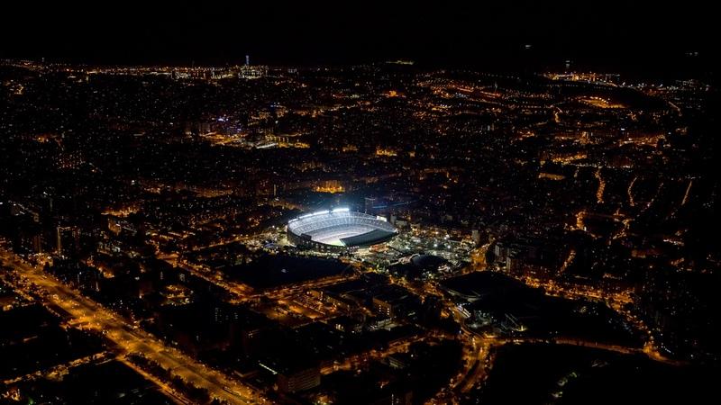 LIVE Watch Arthurs unveilling at Camp Nou
