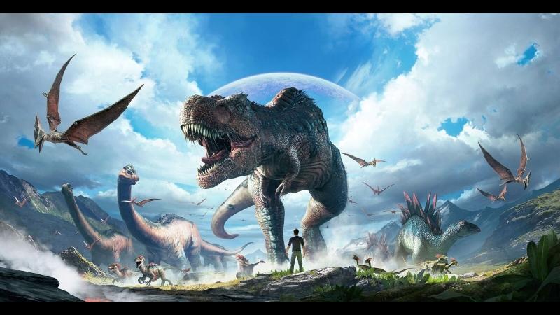 Выживание в мире динозавров набор в трайб